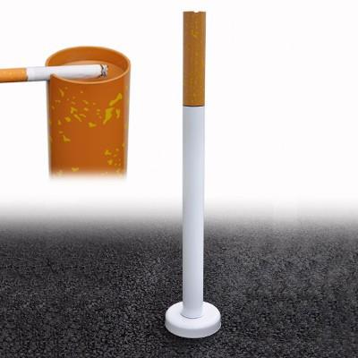 Cendrier cigarette colonne anti-fumée