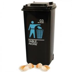 Conteneur, poubelle de table