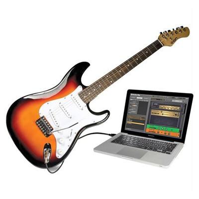 Guitare électrique USB, découverte de la guitare