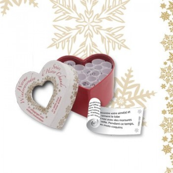 Mini coeur Chaudes soirées d'hiver