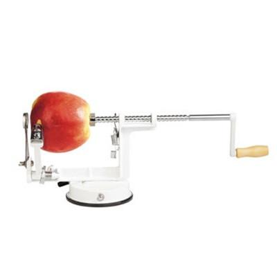 un éplucheur rapide de pommes