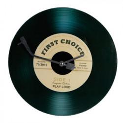 Horloge platine disque vinyle