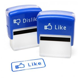 Tampons Facebook j'aime, j'aime pas