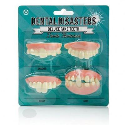 Dentiers fantaisie désastre dentaire