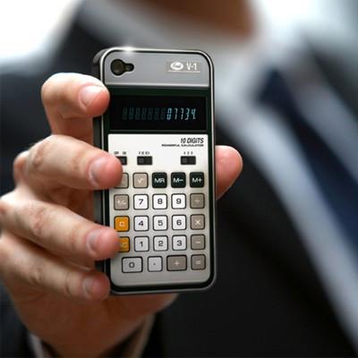 Coque iPhone 4 Calculatrice rétro