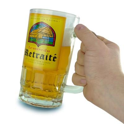 Chope à Bière du retraité