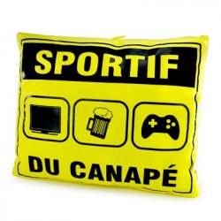 Coussin du Sportif de canapé