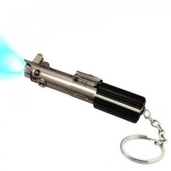 Sabre laser porte-clés Bleu Luke Skywalker