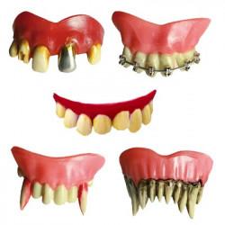 Dentier dents d'horreur