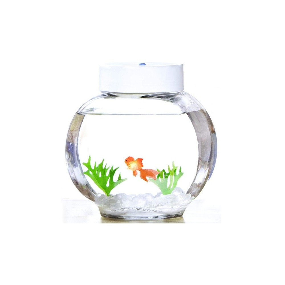 Aquarium magique poisson rouge 33 90 for Petit aquarium boule