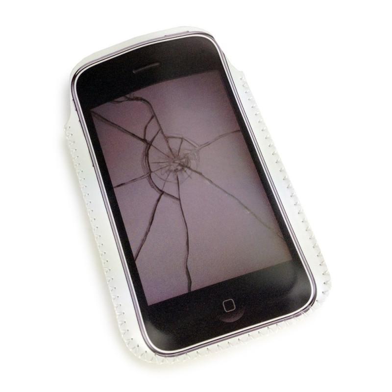 Etui pour iPhone écran brisé