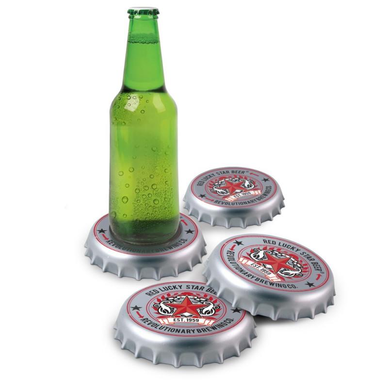 Sous-verres capsules de bière
