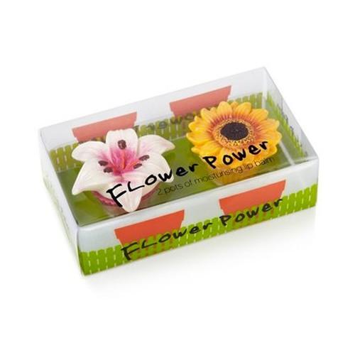 Duo baume à lèvre fleur de lys et tournesol