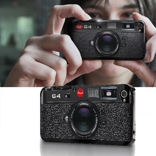 une coque pour iPhone en forme d'appareil photo
