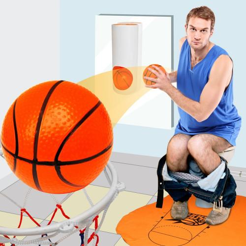 Jeu de basket pour WC