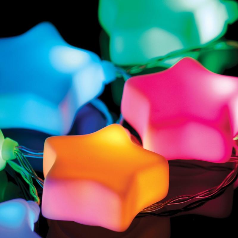 Petite guirlande décorative étoiles lumineuses autonome