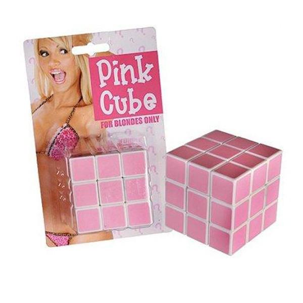 Casse-tête cube pour blondes