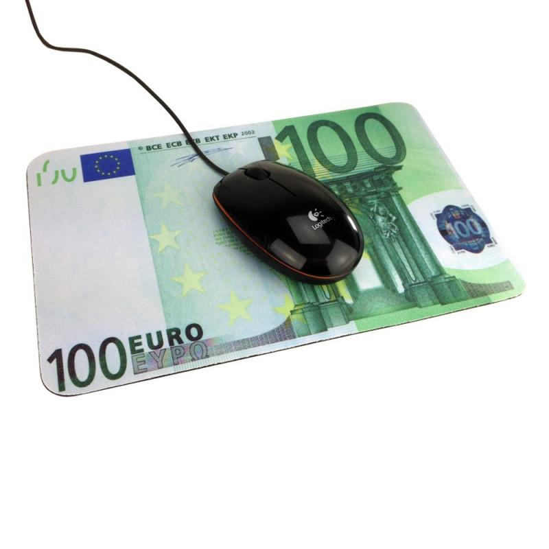 Tapis Souris Billet De Cent Euros 3 85