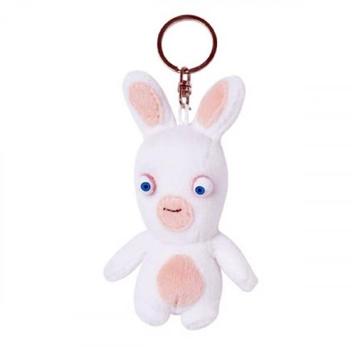 un porte-clés lapin crétin