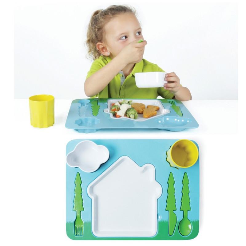 Plateau repas design pour enfant