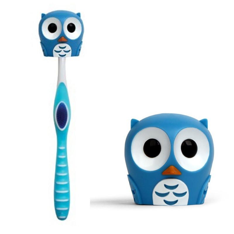 Chouette porte-brosse à dent