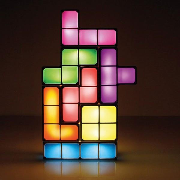Lampe insolite Tetris