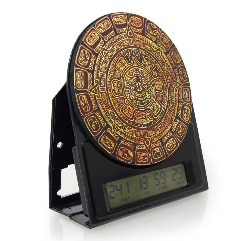 Horloge compte à rebours Maya, horloge de la fin du monde