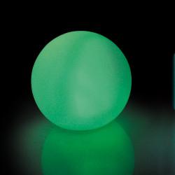 Boule lumineuse 12 cm LED multi-couleurs