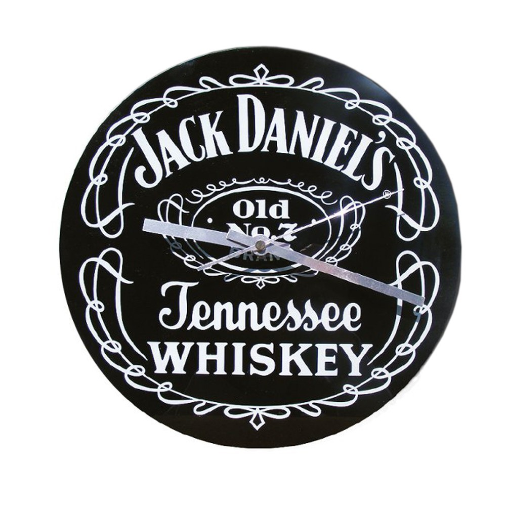 horloge verre jack daniel 39 s distillery 29 99. Black Bedroom Furniture Sets. Home Design Ideas