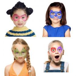 Kit maquillage facile pour fille avec pochoirs
