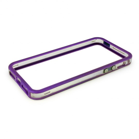 Protection bumper Violet pour iPhone 5