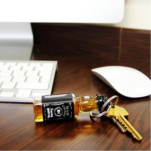 Porte-clé du courage mignonette whisky