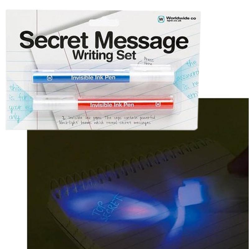 Kit stylos message secret