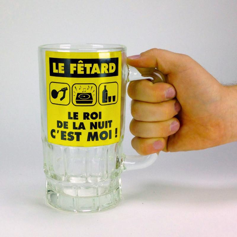 Chope à bière du fêtard