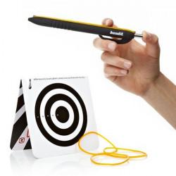 Stylo lance-élastiques pour garnements