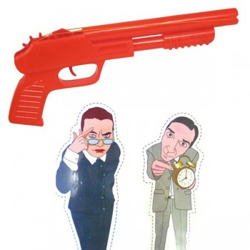 Pistolet à élastique Flinguer le boss