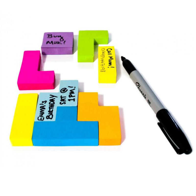 Bloc-notes Post-it Tetris