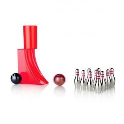 Bowling de bureau avec lanceur