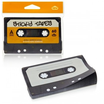 Bloc-notes cassette audio