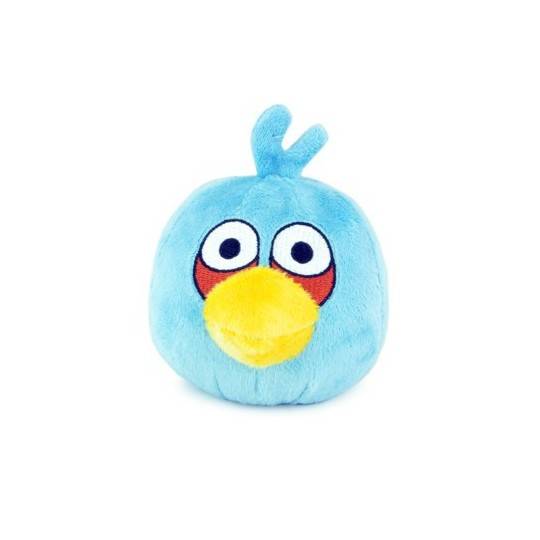 Angry birds Bleu peluche sonore