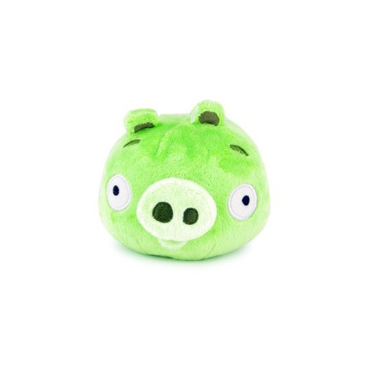 Angry birds Cochon Vert peluche sonore