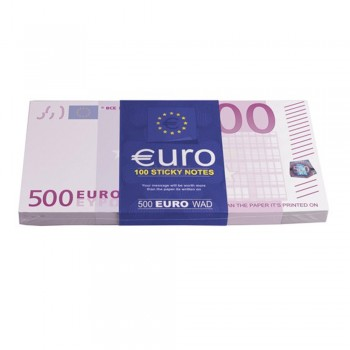 Bloc-notes Billets de 500 euros