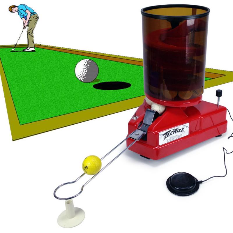 Distributeur automatique de balles de golf