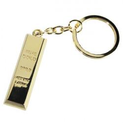 Porte-clé Lingot d'or