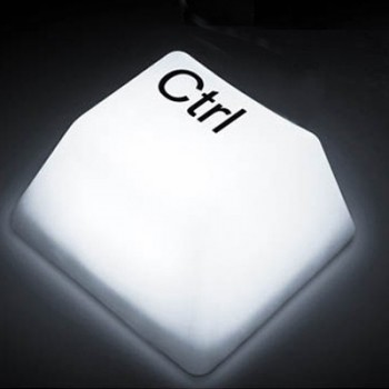 Lampe led geek touche CTRL
