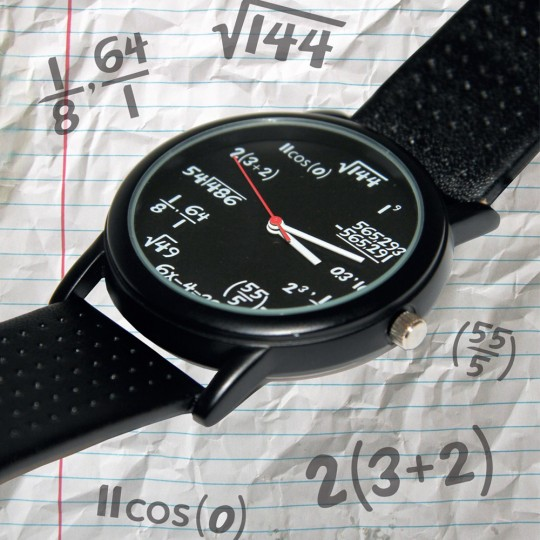 Montre équations