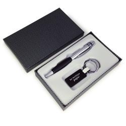 Coffret cadeau Papa stylo & porte-clé