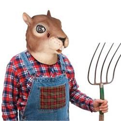 Masque tête d'écureuil