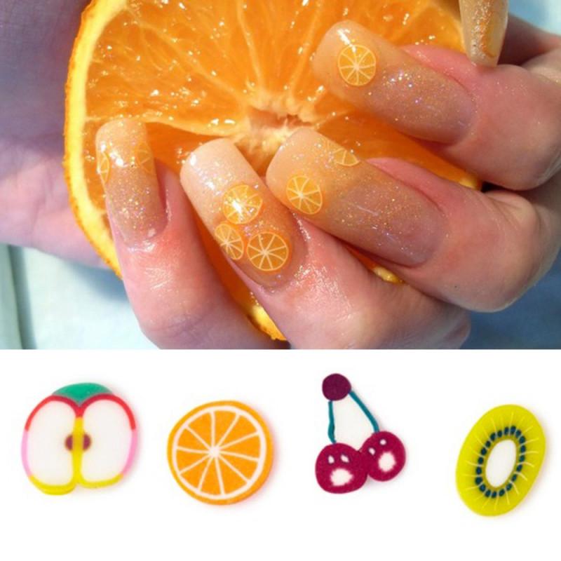 Déco d'ongles fruits
