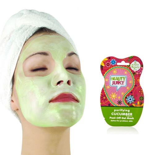 Masque de beauté peel-off au concombre